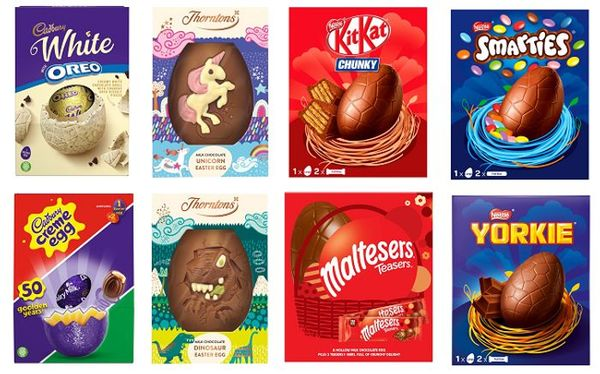 Save 33% - 3 for 2 on Selected Large Easter Eggs at Morrisons