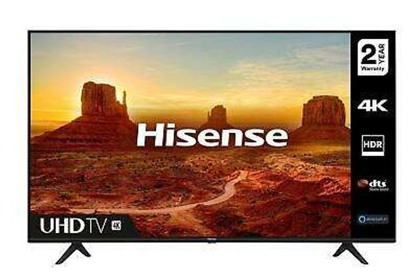 "Save £60.00 - Hisense 65A7100FTUK 65"" 4K Ultra HD HDR Smart TV with Freeview Play Sports Mode"