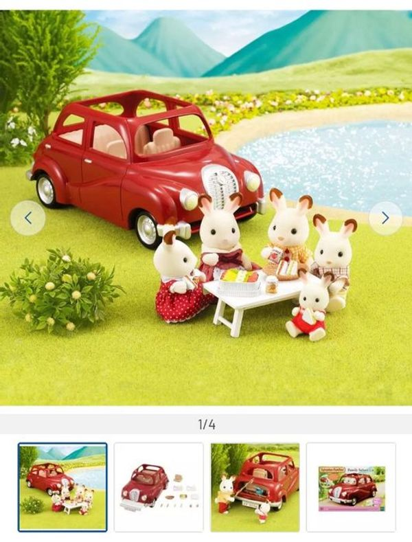 Sylvanian Families Saloon Car Playset