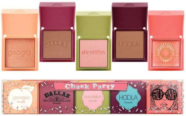 Benefit Cheek Party 5 Mini Blushes & Bronzer