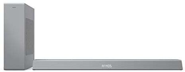 Philips B8505/10 Soundbar with Subwoofer Wireless (2.1 Channels, Bluetooth, 240 W, Dolby Atmos, HDMI eARC, DTS Play-Fi Compatible, Connects with Voice Assistants, Low Profile) Silver - 2020/2021 Model