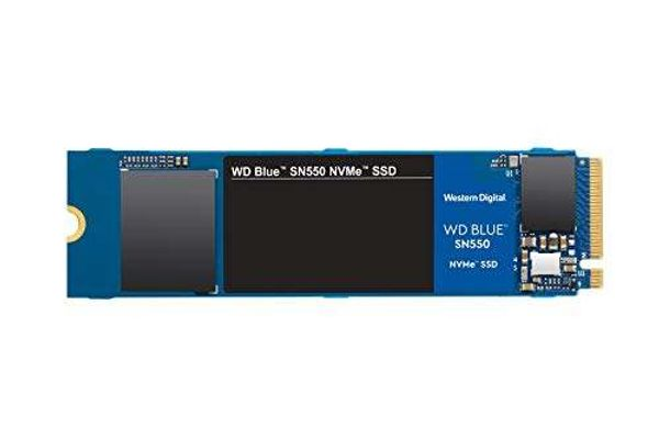 Save 38% - WD Blue SN550 250GB High-Performance M.2 Pcie NVMe SSD