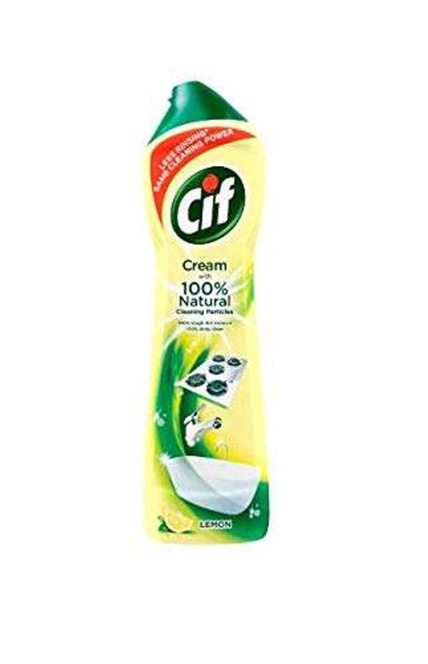 Save 52% - Cif Lemon Cream with Microparticles, 500ml