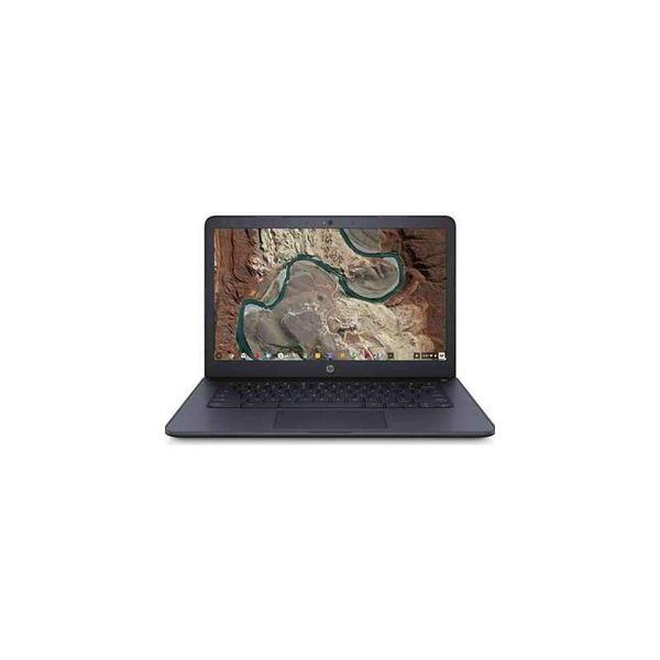 """HP 14-db0500sa 14"""" AMD A4 Chromebook - 32 GB eMMC, Blue - REFURB-B"""