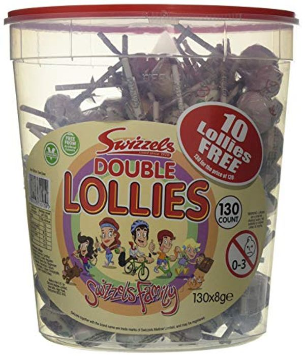 Save 22% - Swizzels Double Lollies Original (tub of 120)