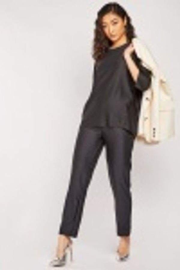 RIBBED TOP AND TROUSERS CO-ORDS