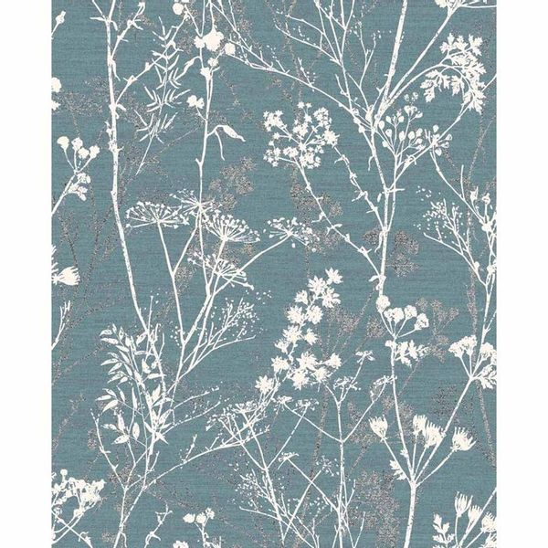 Superfresco Colours Hedgerow Teal Wallpaper
