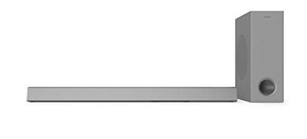 Save 33% - Philips HTL3325/10 TV Soundbar Bluetooth, Soundbar with Subwoofer Wireless (3.1 Channels, Dolby Audio, Surround Sound, 300 W, Wireless Subwoofer, HDMI ARC, USB, Low Profile) Silver
