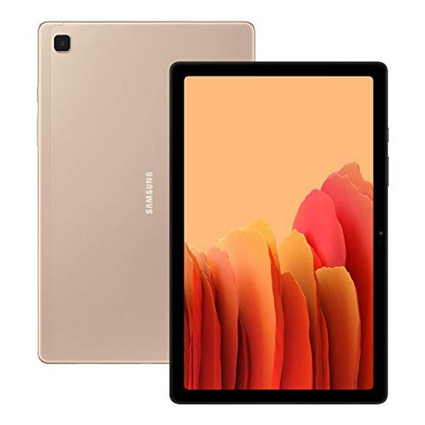 Save £40.00 - Samsung Galaxy Tab A7 32 GB 4G Android Tablet - Gold (UK Version)