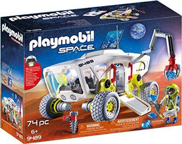 Save £4.36 - PLAYMOBIL Space 9489 Mars Research Vehicle, For children ages 6 +