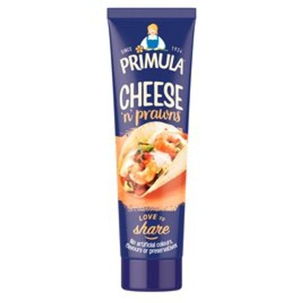 Primula Cheese with Prawns