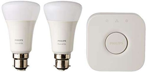 Philips Hue Smart Bulb, Synthetic, 10 W, White