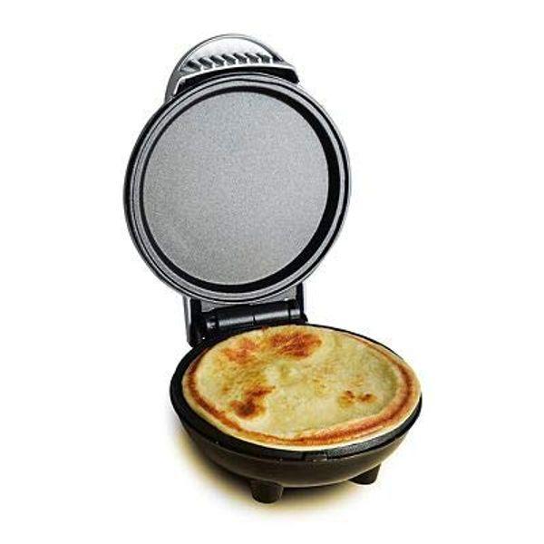 Lakeland Mini Electric Pancake Maker Silver 18 x 14.5 x 9.5cm