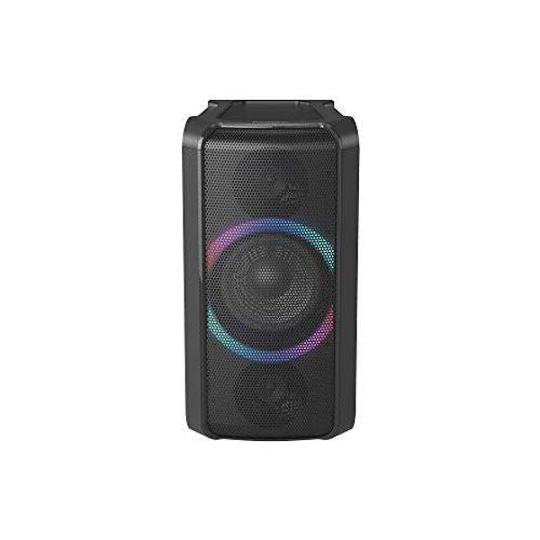Save 25% - Panasonic SC-TMAX5EB-K Wireless Party Speaker with Bluetooth, wireless charging, multi-connect and power bank compatibility, Black