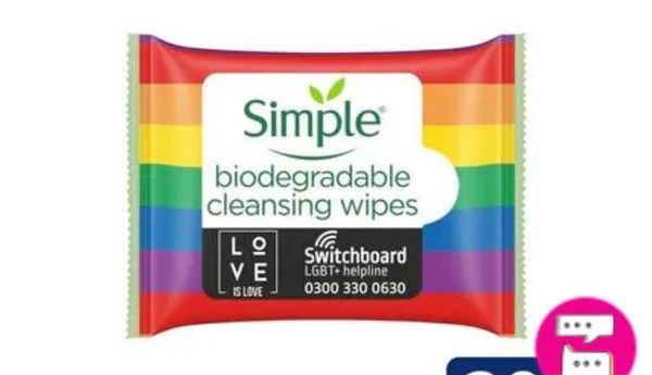 Buy One Get One Free Simple Limited Edition Biodegradable Face Wipes