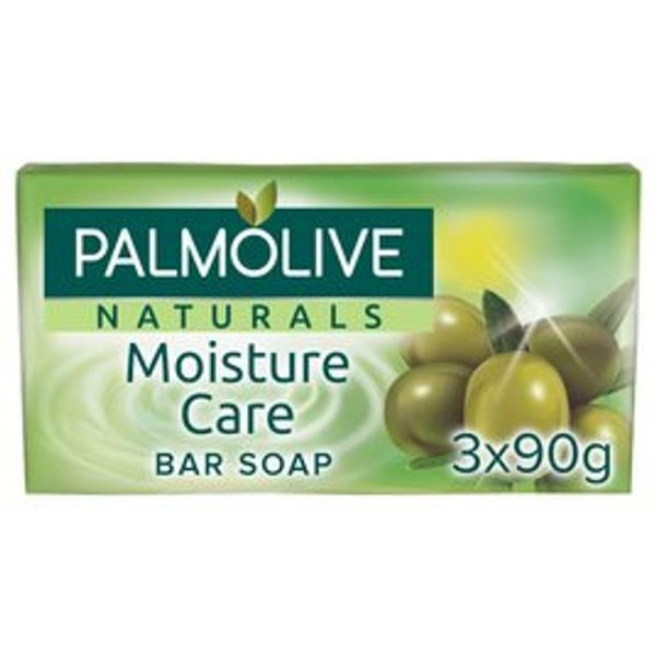 Palmolive Naturals Moisture Care with Olive Bar Soap 3 X 90g