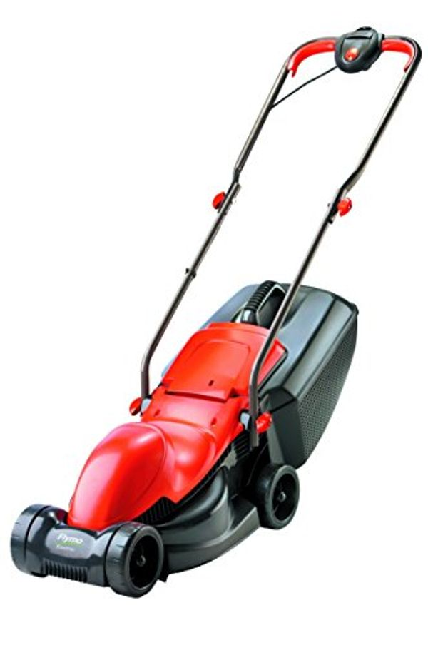 Save 26% - Flymo Easimo Electric Wheeled Lawn Mower, 900 W, Cutting Width 32 cm