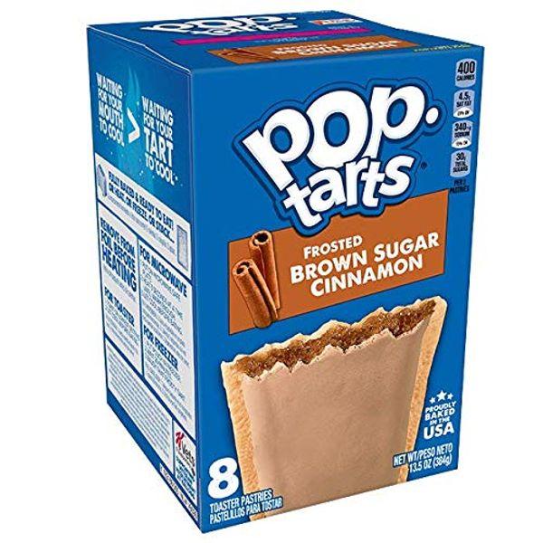Save £0.76 - Kellogg's Frosted Brown Sugar Cinnamon Pop Tarts, 384g