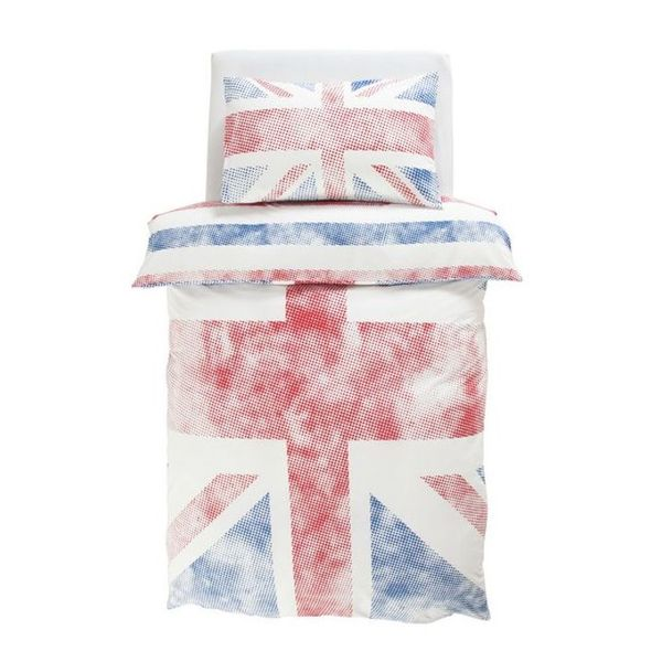 Argos Home Union Jack Bedding Set - Single
