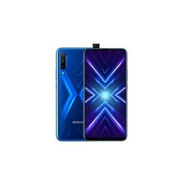 """New Honor 9X Sapphire Blue 6.59"""" 128GB Dual Sim 4G LTE Android 9.1 Sim Free Unlo"""