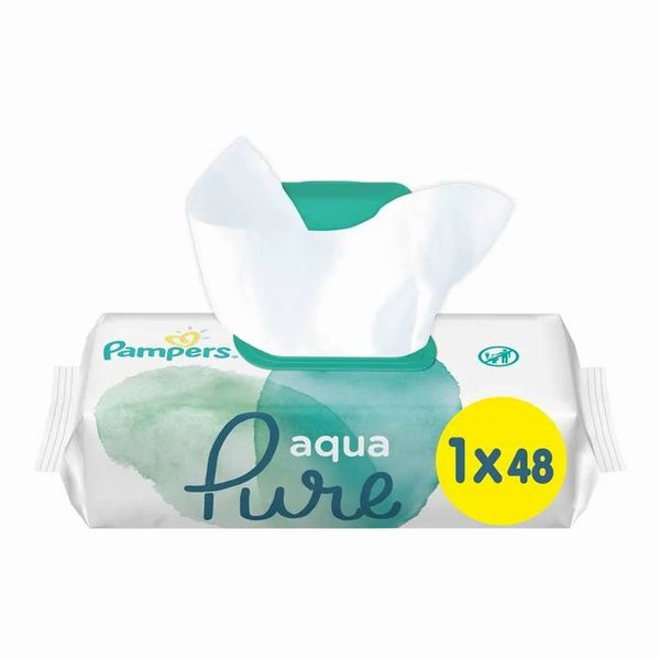 Pampers Aqua Pure Sensitive Wipes