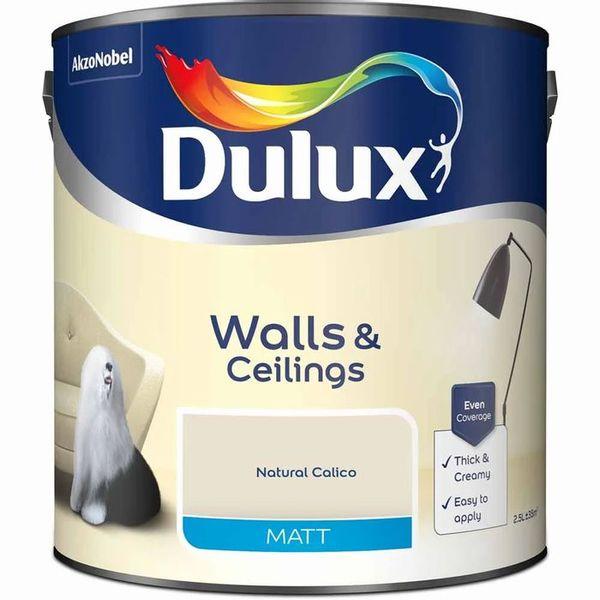 Dulux Calico Matt Emulsion Paint 2.5L
