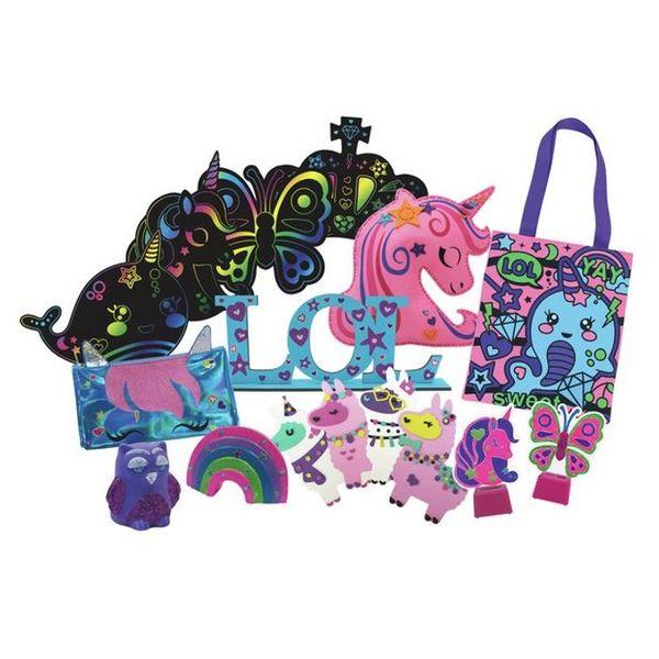 Crafty Little Kids 8-in-1 Big Craft Set