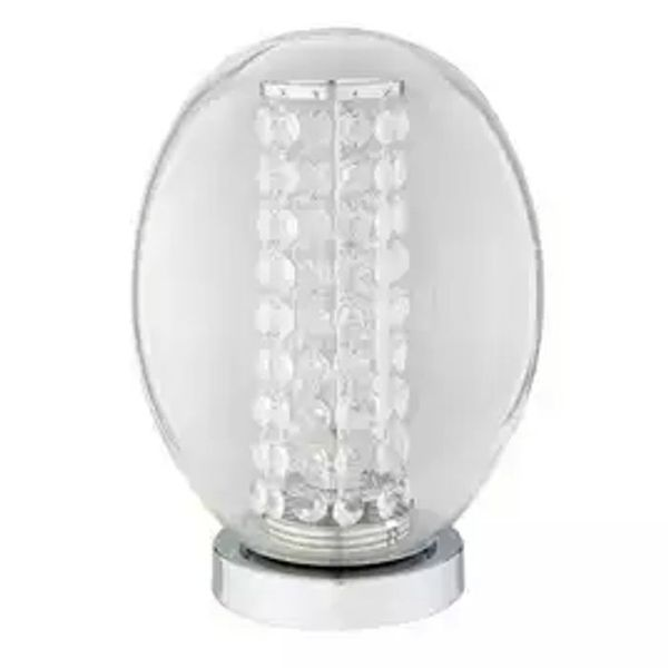 Argos Home Palm Luxe Table Lamp - Chrome