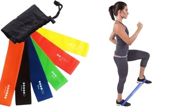 Six Level Exercise Resistance Loop Bands
