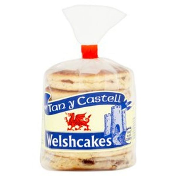Tan Y Castell Welsh Cakes 6 per Pack