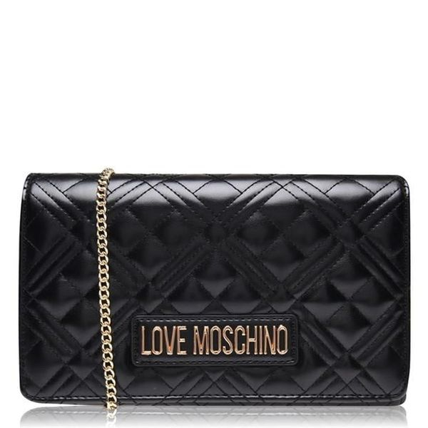 Save £29.00 - Save £29.00 -  LOVE MOSCHINO SUPER QUILTED MINI CROSSBODY BAG