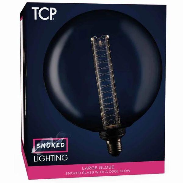 TCP 1 pack Screw E27/ES 60lm LED Decorative Smokey Globe Light Bulb Non Dimmable