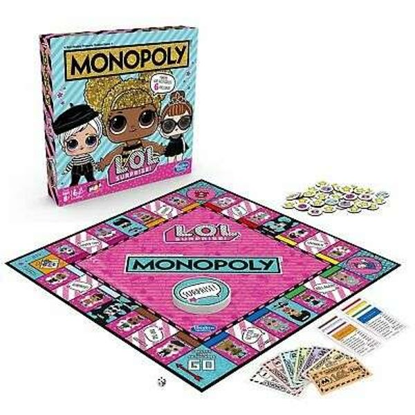 Monopoly LOL Surprise Game from Hasbro Gaming - 2+ Players