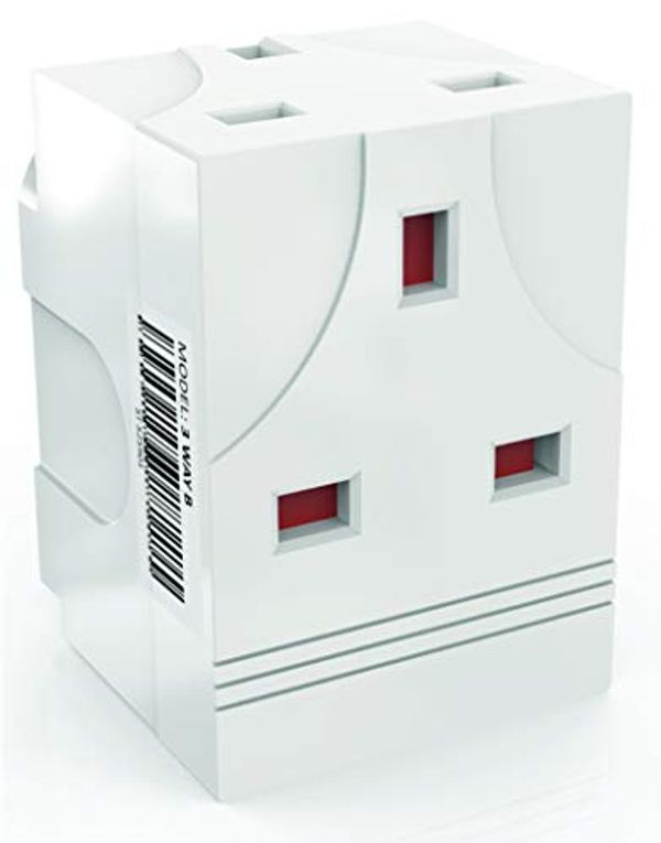 JECUB™ - UK 3 Way Plug Adapter. This extension plug is a great multi plug adapter providing 3 socket extensions for Computers, TV's and more. Our Plug Extension has a UK 13 AMP fuse