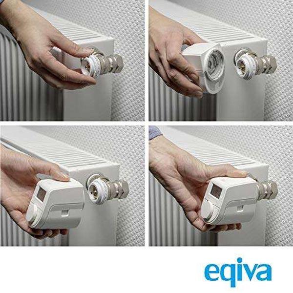Eqiva radiator thermostat, white, 143478A0
