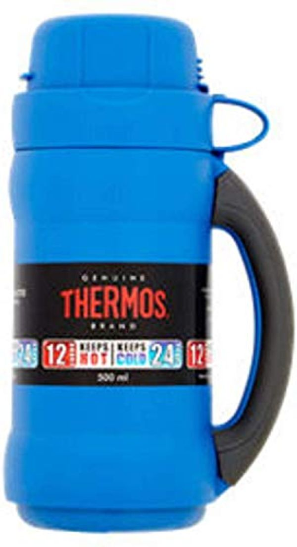 Save £2.00 - Thermos Premier Glass Double Wall 500ml Flask