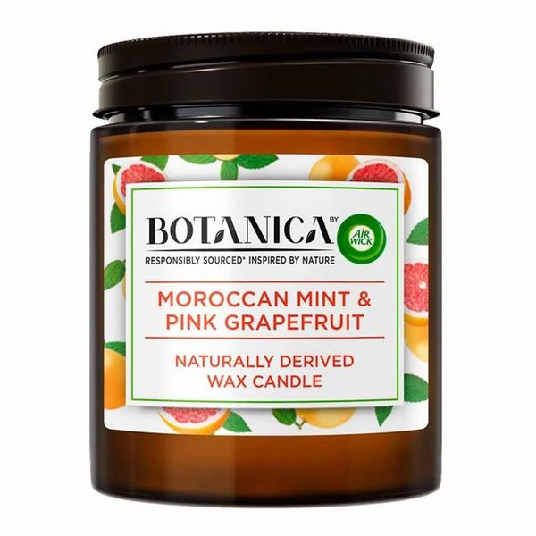 Botanica Mint and Pink Grapefruit Candle