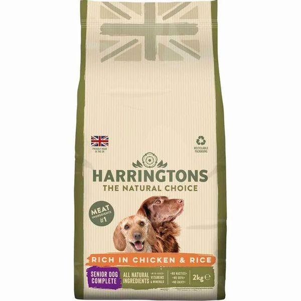 Harringtons Chicken and Rice Complete Dry Senior Dog Food 2kg