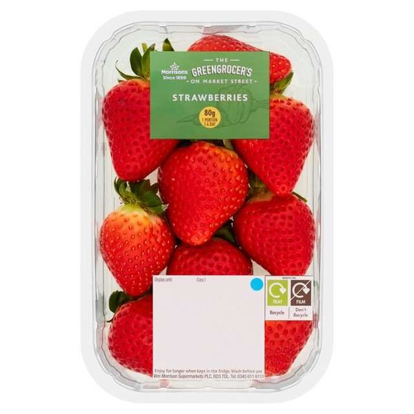 Morrisons Strawberries 227g - 97p @ Morrisons (Weymouth)