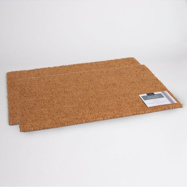 Home Collections: PVC Coir Door Mat (2x)