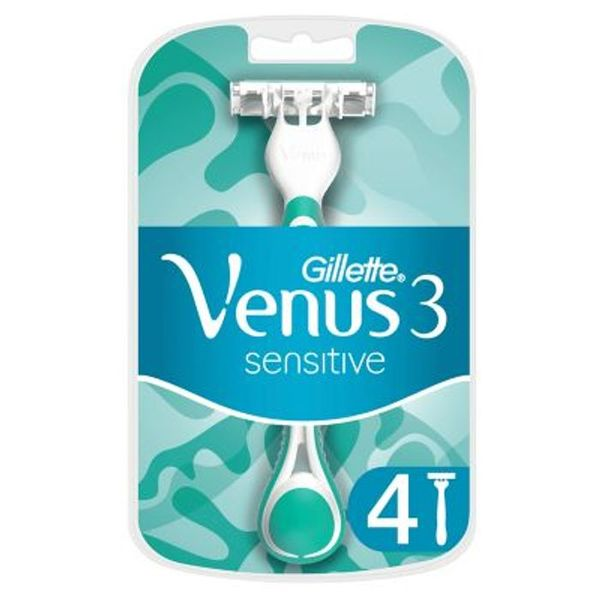 Venus Sensitive Women's Disposable Razors - 4 Pack