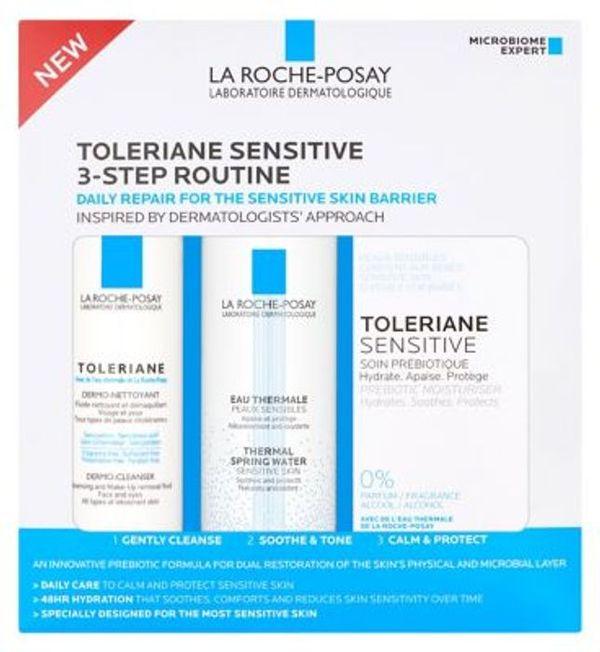 La Roche-Posay Toleriane Sensitive 3 Step Routine Kit