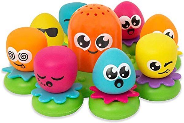 Save 61% - TOMY Toomies Octopals Number Sorting Baby Bath Toy | Educational Water Toys For Toddlers | Suitable For 1, 2 & 3 Years Old Boys & Girls