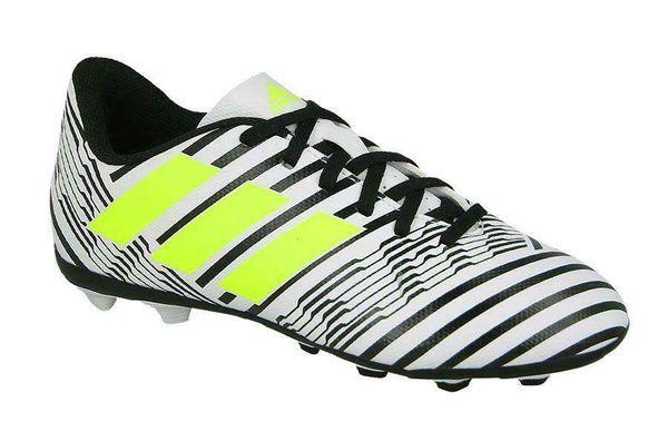 Save 55% - Mens adidas Nemeziz 17.4 Firm Ground Black/Wht Football Boots (NGRF4) RRP £49.99