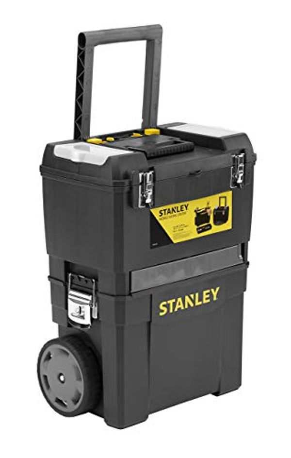 Save 25% - STANLEY Mobile Work Centre Toolbox, 2 Tier Stackable Units, 1-93-968