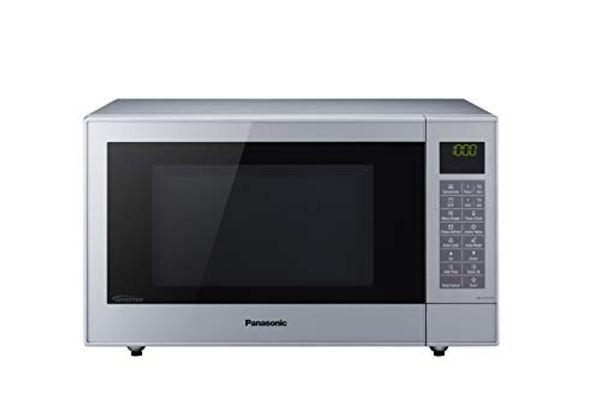Save 25% - Panasonic NN-CT57JMBPQ Slimline Combination Microwave Oven with Turntable, 27 Litres, Silver
