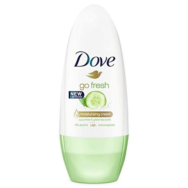 Save 68% - Dove Go Fresh Cucumber and Green Tea Anti-Perspirant Deodorant Roll-On, 50 ml
