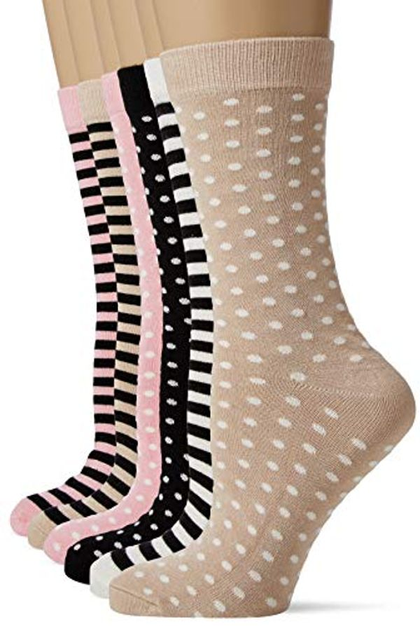Save £1.50 - FM London Women's Bamboo Socks (Pack of 6)