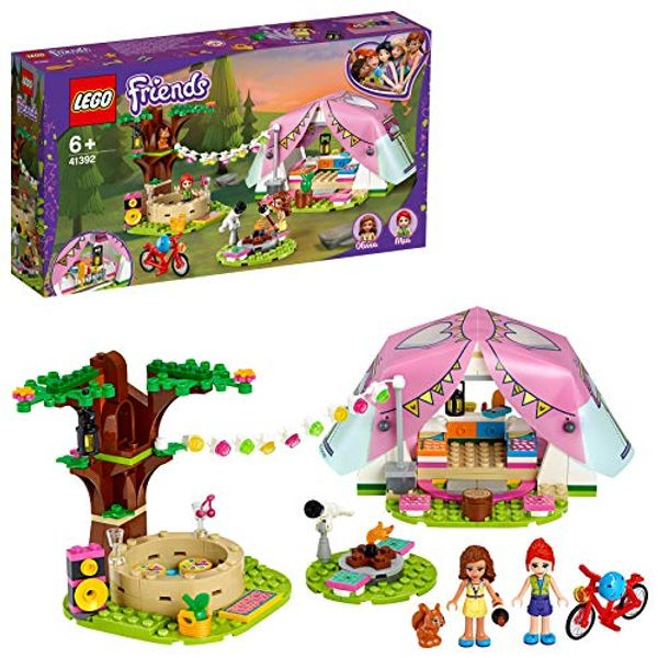 Save 24% - LEGO 41392 Friends Nature Glamping Outdoor Adventure Playset with Tent and Olivia & Mia Mini Dolls