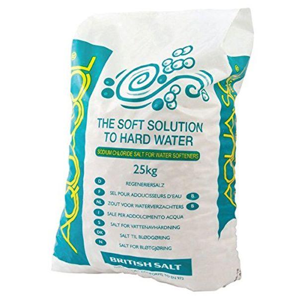 CPC BWP433-25 Aqua sol Water Softener Salt Pebbles, 25 kg